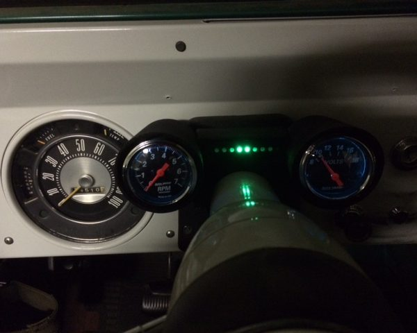 Photo of Rally-Pac Gauge Cluster Lighting Module RPM Level 1