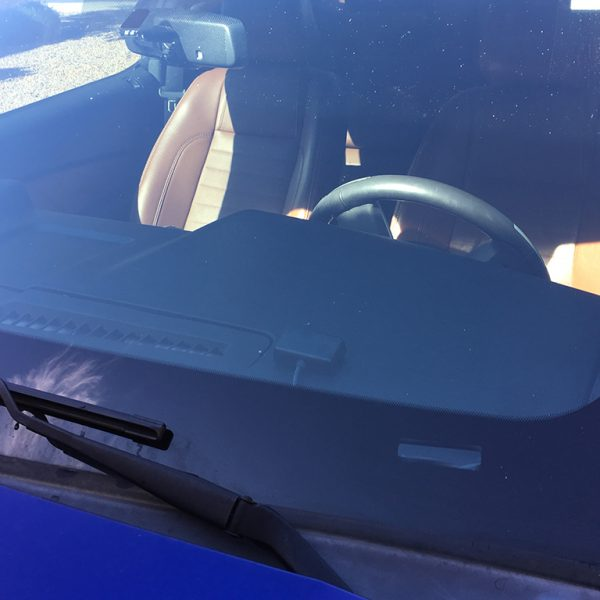 Image of Trac-Pac™ SQ Mini Sequential Shift Light On Dash (Rear View)