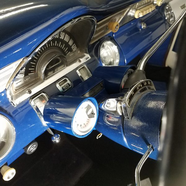 Image of Rally-Pac Gauge Pod in a '58 Pontiac