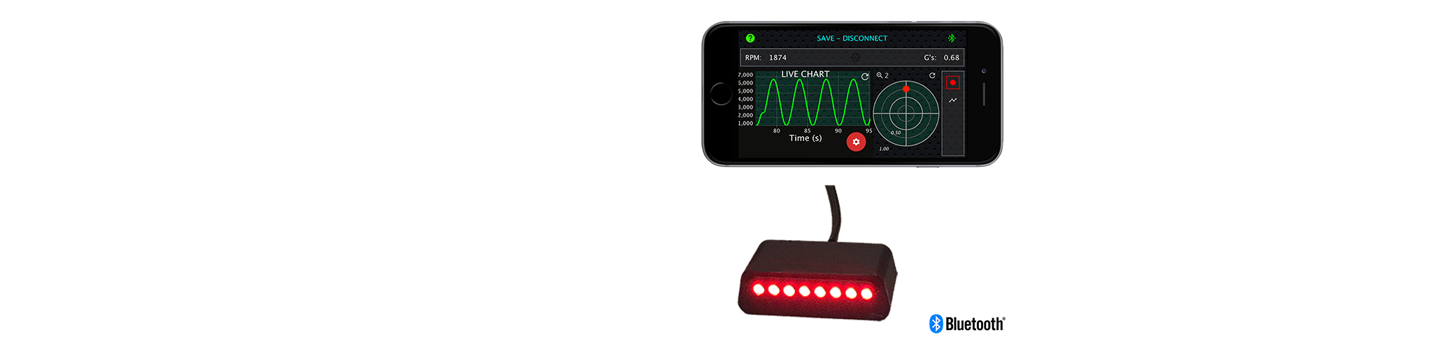 Image of Trac-Pac™ SQ Sequential Shift Light and Performance Optimizer App