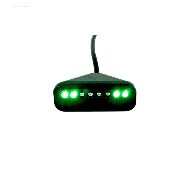 Image of Trac-Pac™ SQ Sequential Shift Light 4 Green Lights