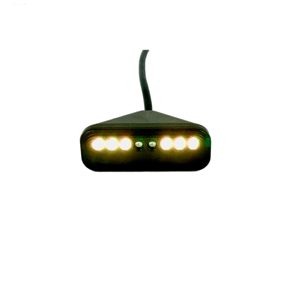 Image of Trac-Pac™ SQ Sequential Shift Light Yellow Lights